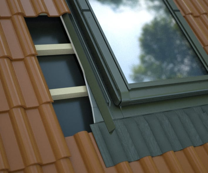 KOLNIERZ-H H9 - for high profiled roofing material