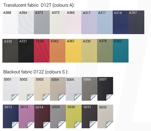 fabric_colours D33 DECOMATIC
