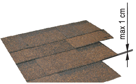 wymiary-P P - for flat roofing material
