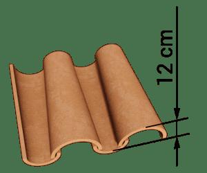 dachowka-mnich-mniszka-z-wymiarami-300x250 H12 - for high profiled roofing material
